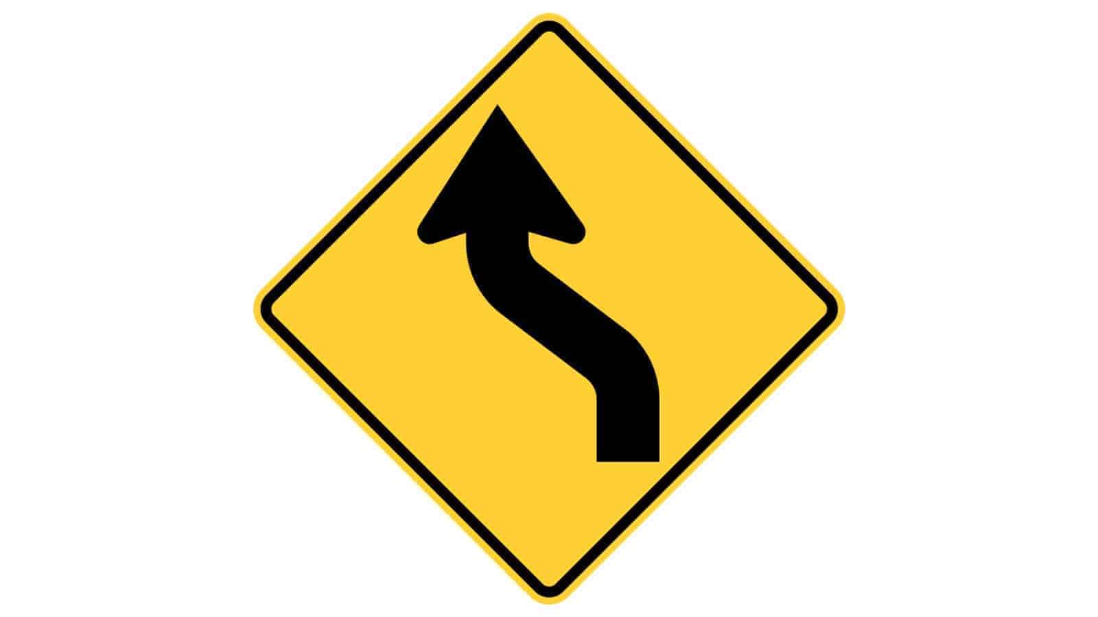 Reverse Curve (First Curve to the Left)