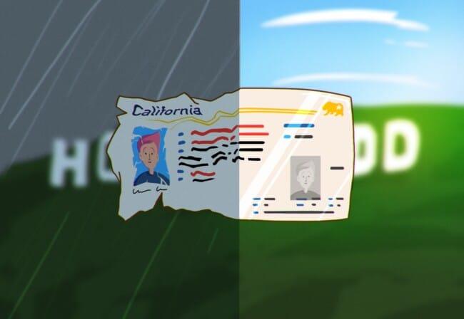renew driver's license CA
