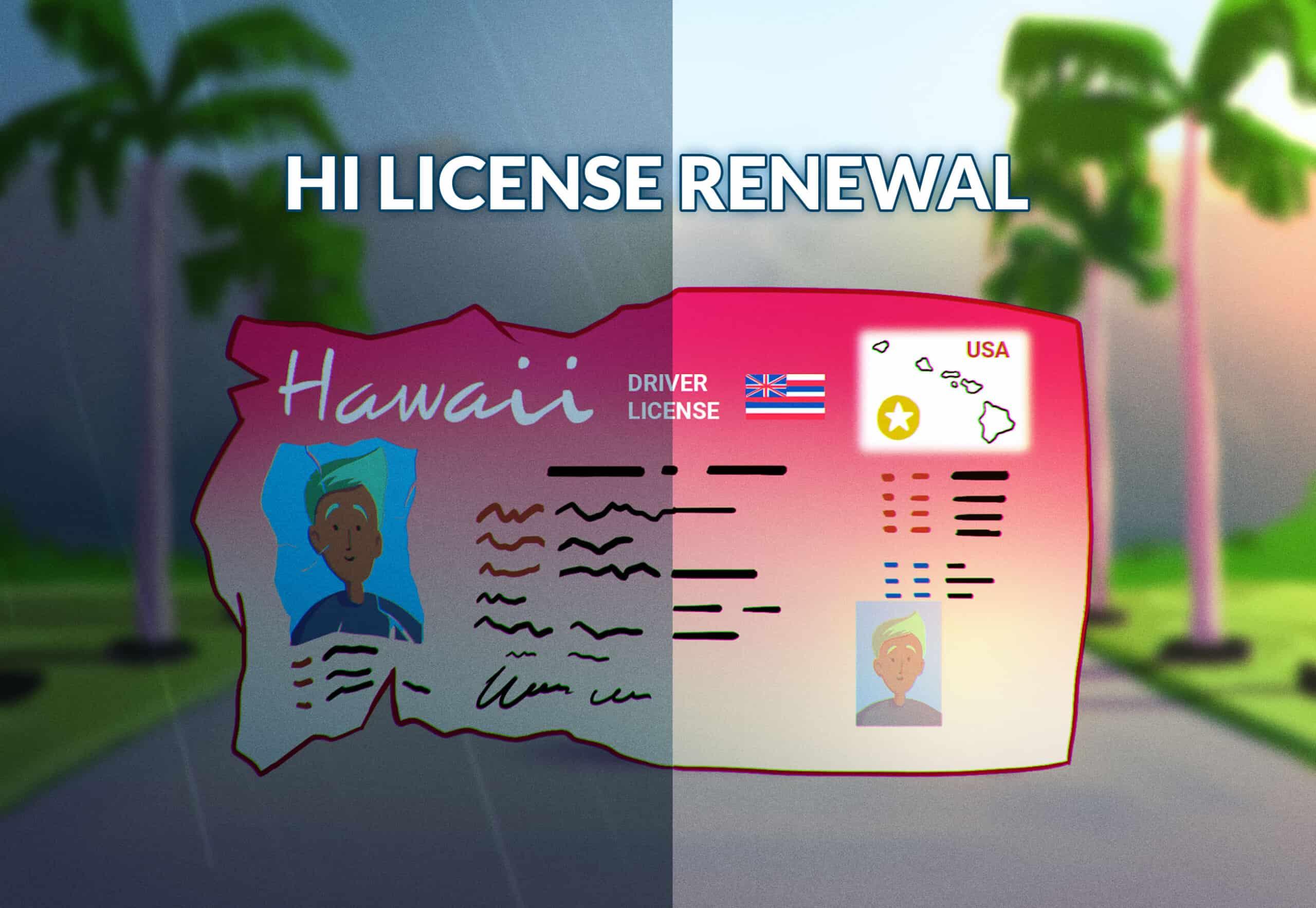 Hawaii Driver's License Renewal