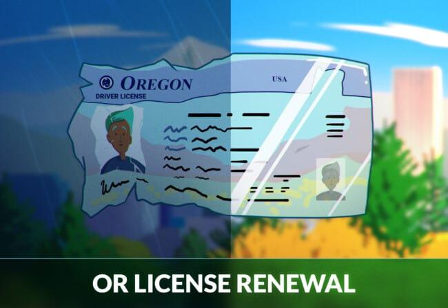 Oregon Driver's License Renewal