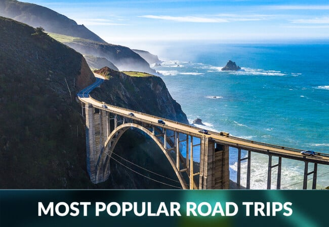 most popular road trips
