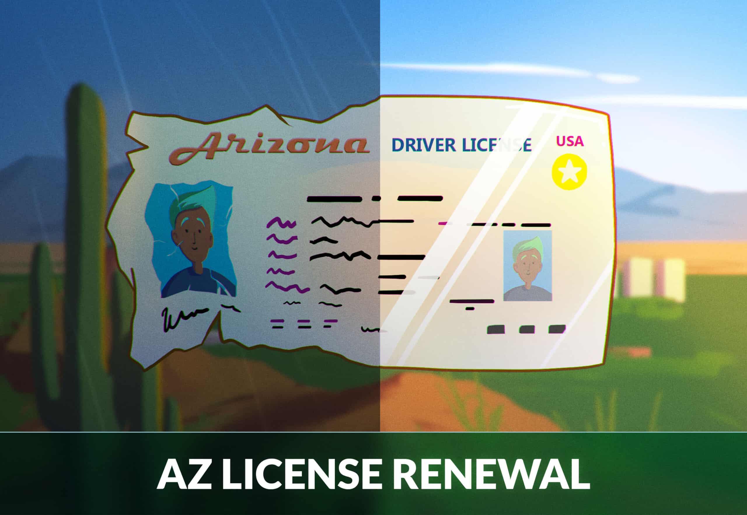 Arizona drivers license renewal