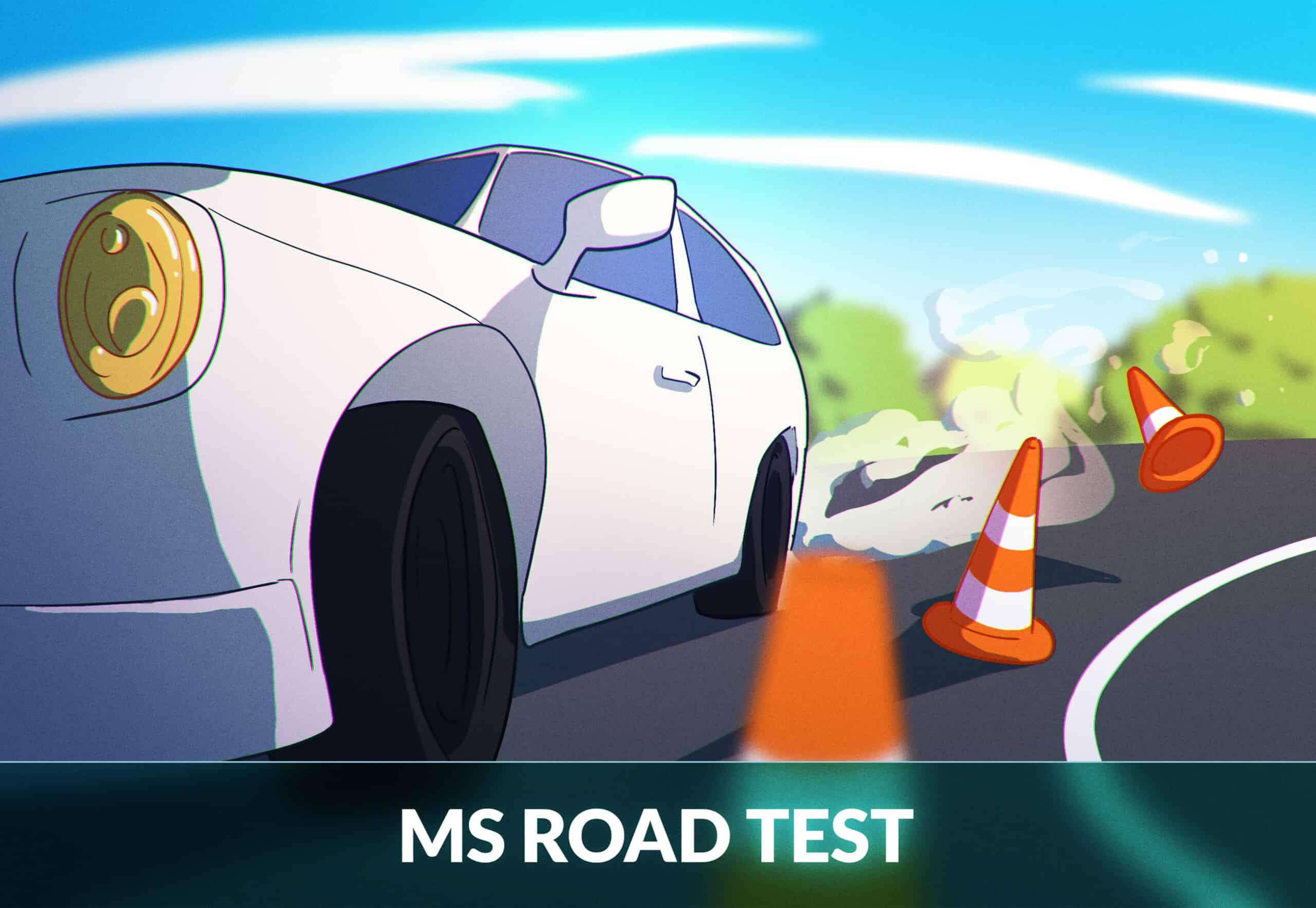 road test Mississippi