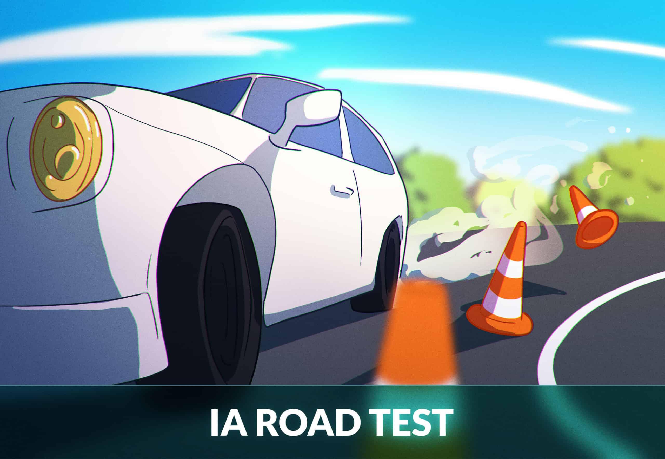 Iowa road test