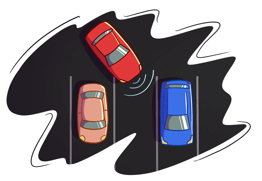car parking on driving test