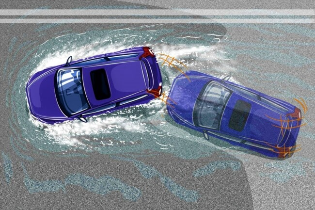 Aquaplaning: Why It Occurs, How to Avoid It & What to Do When Aquaplaning