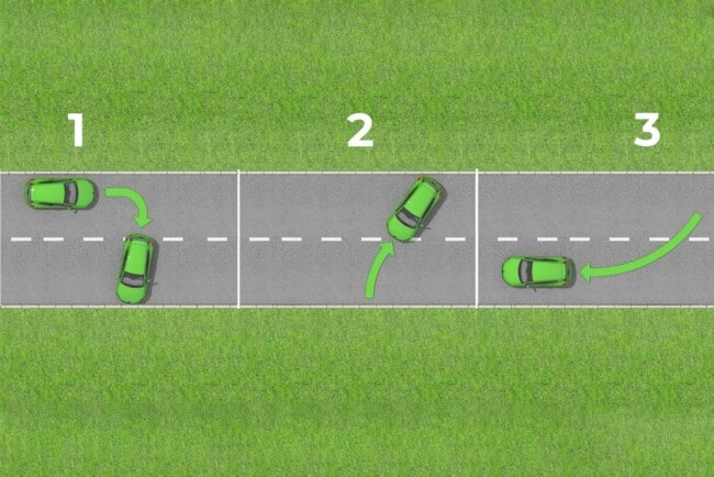 How to Do a Three-Point Turn in 4 Easy Steps
