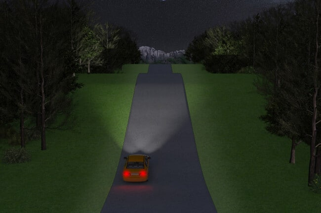 Dipped Headlights vs Full Beam – What They Are & When You Should Use Them